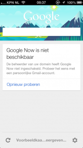 Google Now en Google Apps for Business