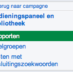 Google AdWords Bedieningspaneel en bibliotheek 2
